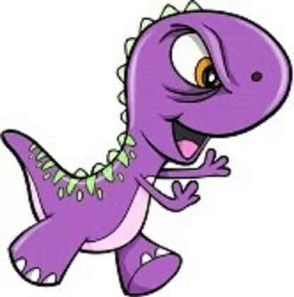 Purple dinosaur | Purple People Eater | Pinterest