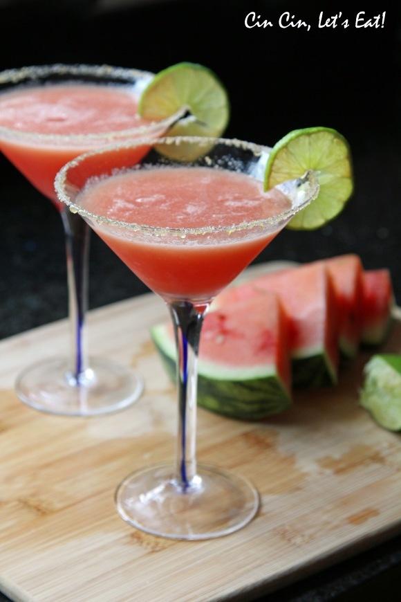 Frozen Watermelon Margaritas | Down the Hatch! | Pinterest