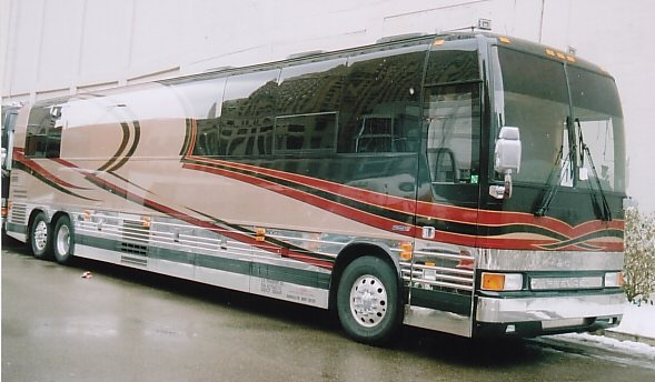 Pictures Of George Jones Tour Bus