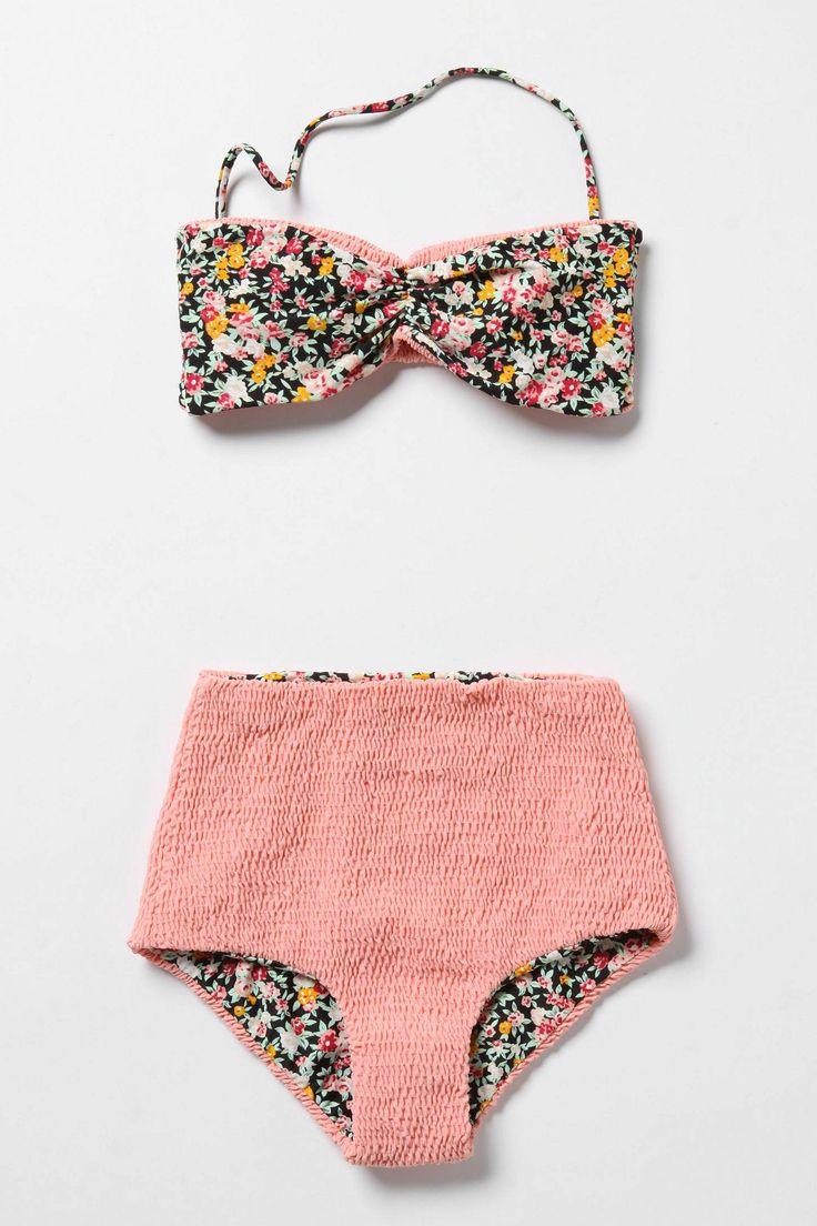 floral rush bikini • tori praver • anthropologie