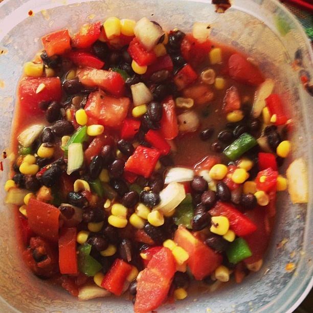 Homemade Black Bean and Corn Salsa | Food I've Made! | Pinterest