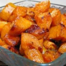 Roasted Sweet Potatoes with Honey Glaze | Vegetarian Recipes | Pinter ...