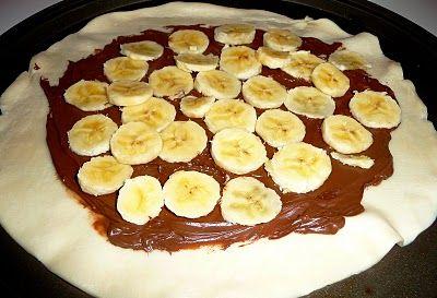 Live.Love.Eat: Banana-Nutella Galette | Desserts | Pinterest