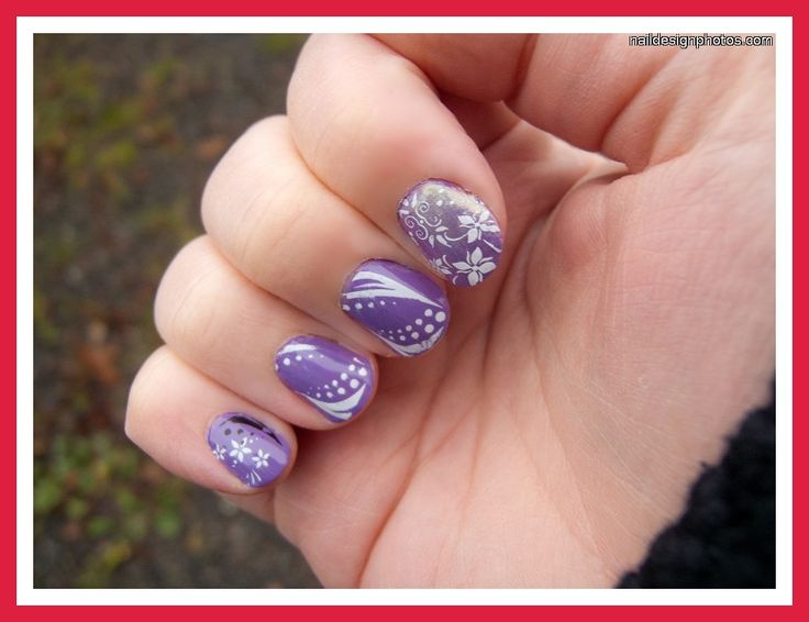 easy nail designs for very short nails nails pinterest