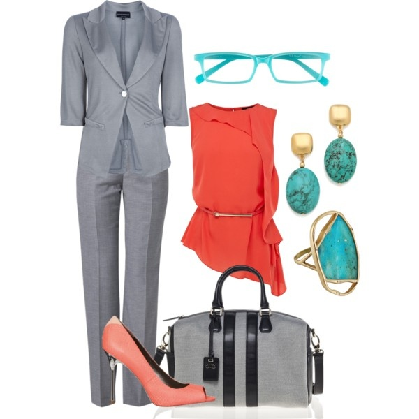 coral work outfit fits pinterest