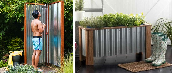 How to make an outdoor shower  #DIY