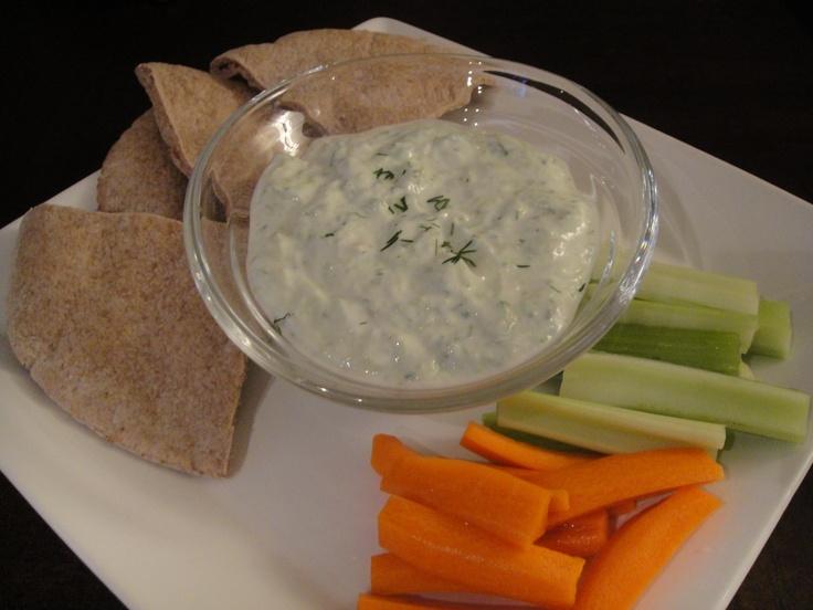 Easy Homemade Tzatziki sauce   inspired by greek eats   Pinterest