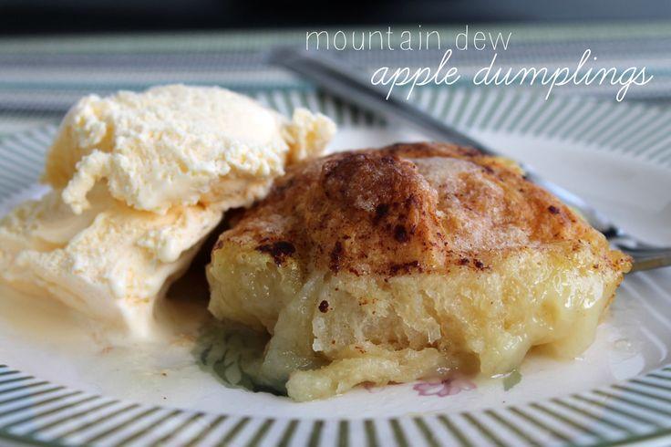 Mountain dew apple dumplings cobblers crisps and dumplings pint