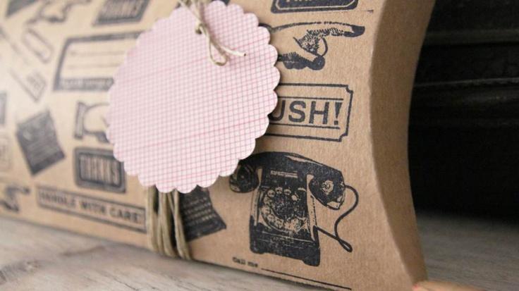 packaging gift stamp  www.muymolon.com