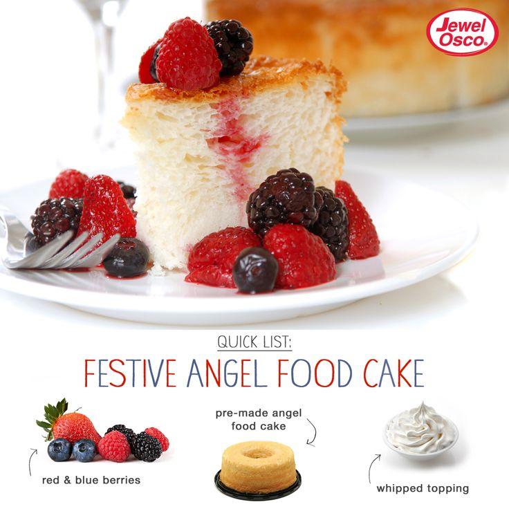 cake orange angel food cake with strawberries angel food cake with ...