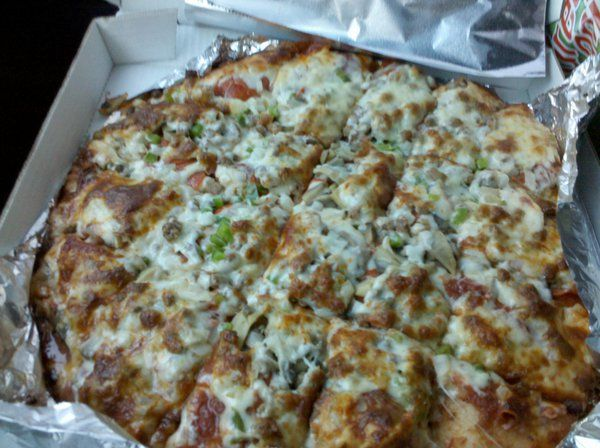 how to make deluxe pizza