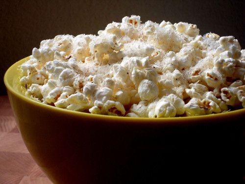 White cheddar & black truffle oil popcorn. 479popcorn makes this ...