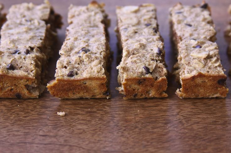 Oatmeal Chocolate Chip Breakfast Bars | Recipe