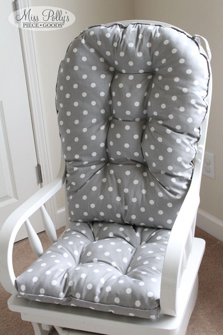 Custom chair cushions glider cushions rocking chair cushions