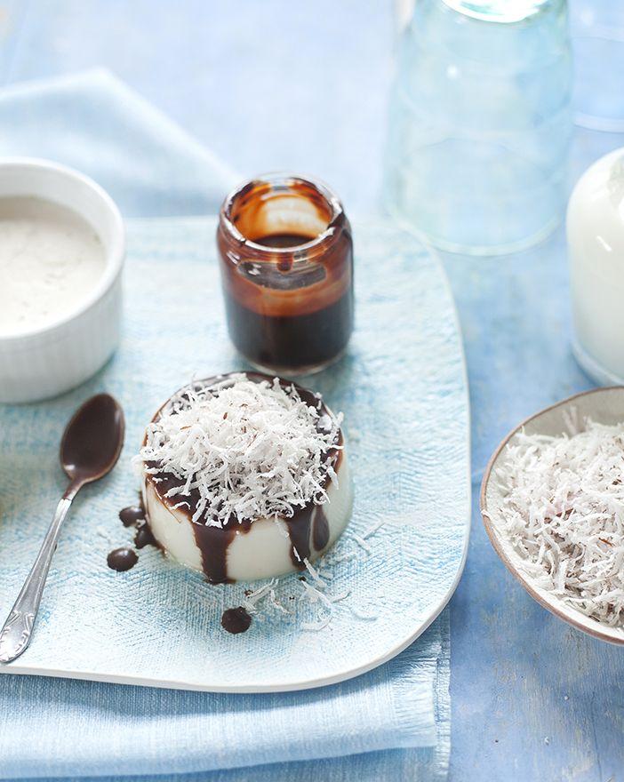 Milk Chocolate Panna Cotta Recipe — Dishmaps