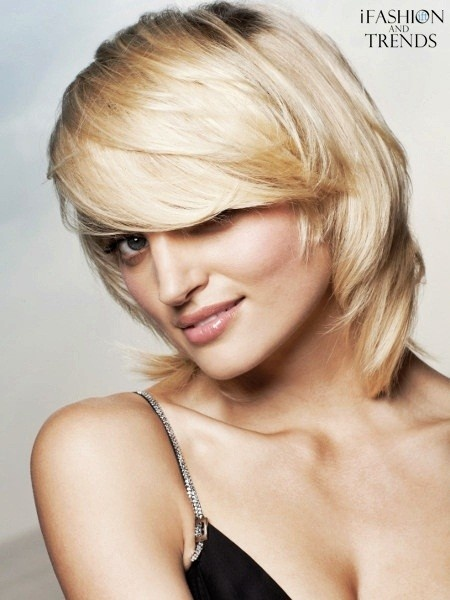 Gorgeous and Sexy Medium Choppy Layered Hairstyles for Fall ~ i Fashion and Trends