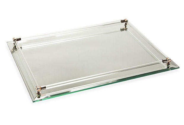 Mirrored vanity tray for Mirrored bathroom tray