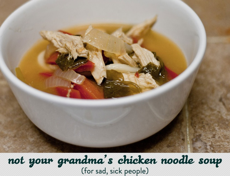Soup for Sick People | nom nom | Pinterest
