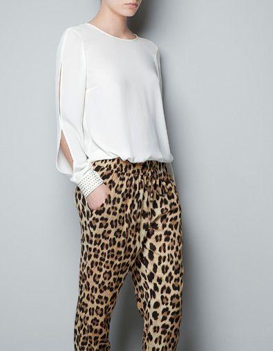 Zara Open Sleeve Blouse 60