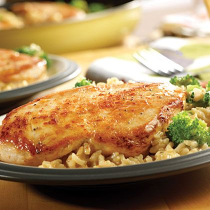 campbell s quick amp easy chicken broccoli amp brown rice dinner