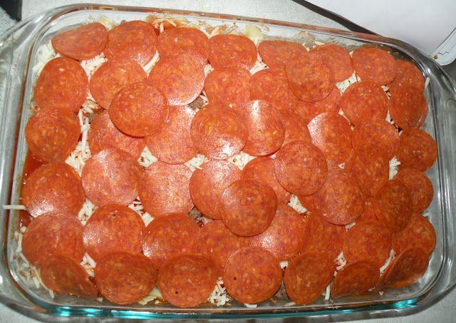 Pizza Casserole. PIZZA. CASSEROLE. | Pizza Pizza!! | Pinterest