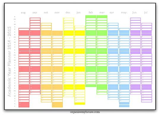 VacationPlanner 2016 Excel Templates for every purpose - mandegarinfo