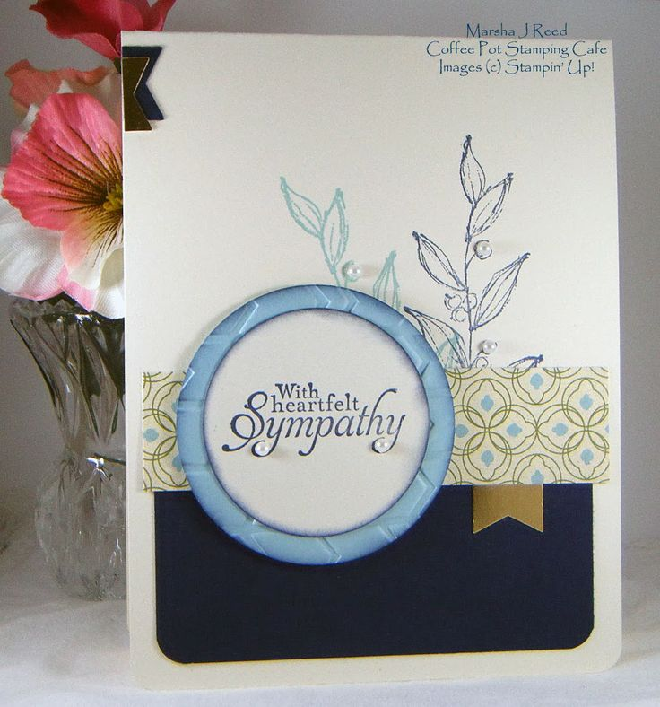 Sympathy card stampin up 174 stampin up pinterest