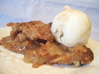 Apple Crumble Pie with Whole Wheat Crust | Sweet | Pinterest