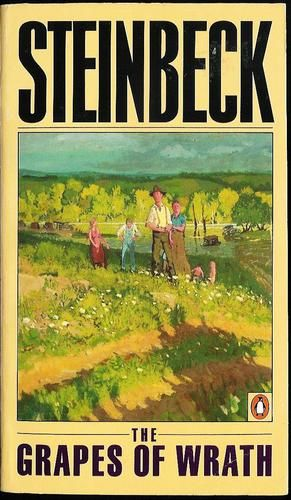 an analysis of bold dramatization in the grapes of wrath by john steinbeck