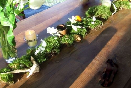 D co de table ambiance for t centerpieces pinterest - Idee deco de table pas cher ...