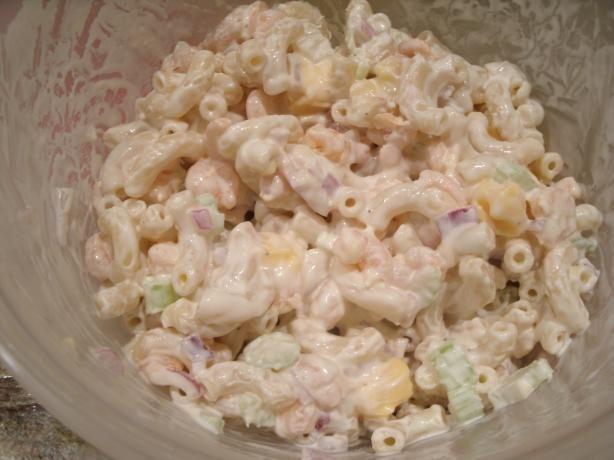 Shrimp Macaroni Salad   Recipe
