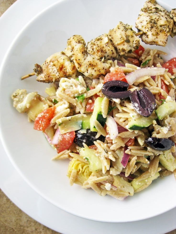 Greek Orzo Salad @Stacy Allen-Travis looks good....a new recipe to try ...