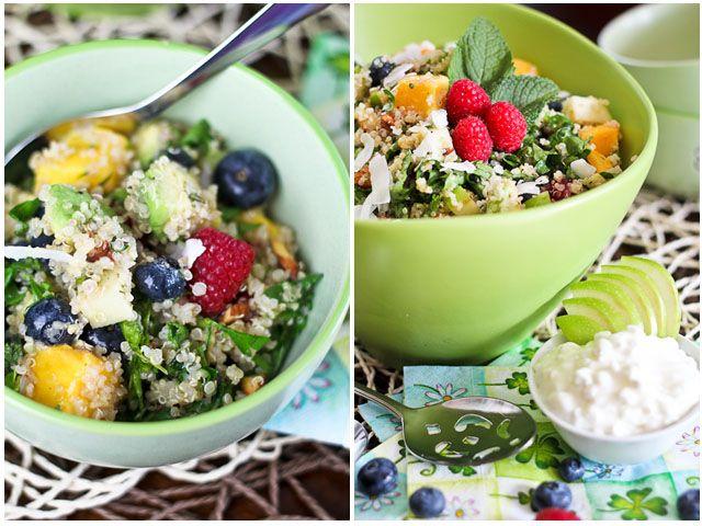 Breakfast Quinoa Salad   Recipe