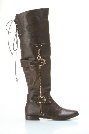 Lucia Boots In Brown