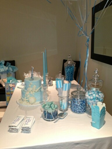 candy table for boy baby shower baby shower pinterest