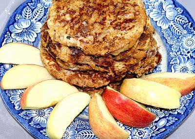 Grain Crazy: Apple Oatmeal Whole Grain Pancakes | French Toast ...