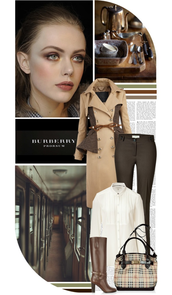 """""""Burberry Bliss"""" by chelseagirlfashion ❤ liked on Polyvore"""