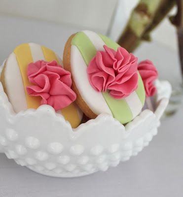 Beautiful Easter cookies by Alison Lawson Cakes