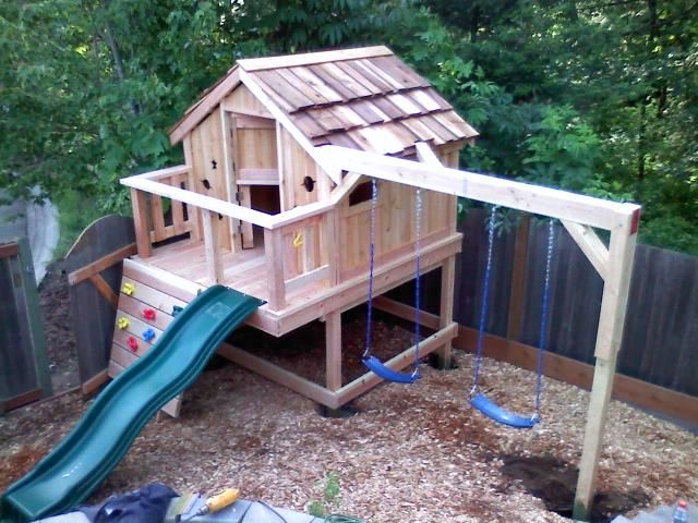 Custom Backyard Play Structures : custom built for seattle and washington state sams custom sets