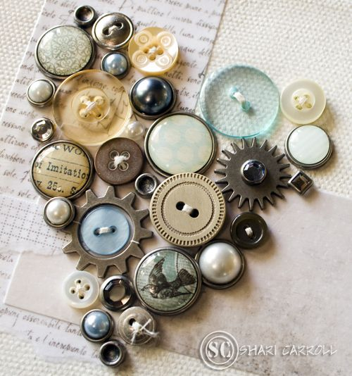 buttons, hearts...oh my!!