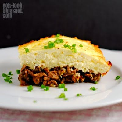 baked ricotta, eggplant and beef casserole