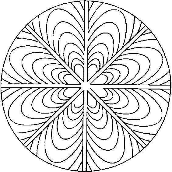 sacred mandala coloring pages - photo#32