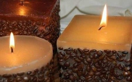 vela de cafe | For the Home | Pinterest