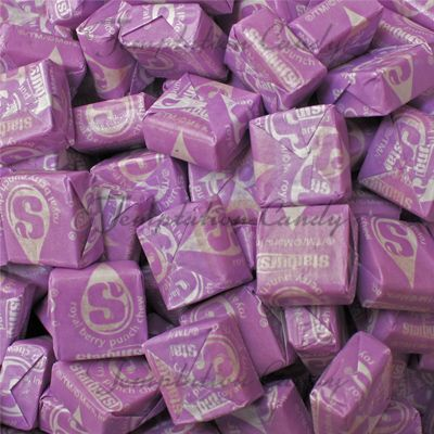 Royal Berry Purple Starburst Candy from Temptation Candy.