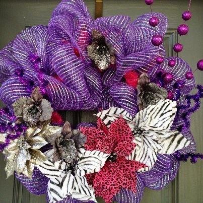 Beautiful christmas wreath craft ideas pinterest Beautiful christmas wreaths