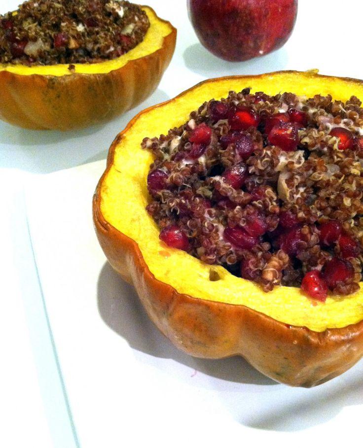 acorn squash quinoa stuffed squash quinoa stuffed acorn squash rings ...
