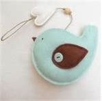felt ornament blue bird- Bing Images