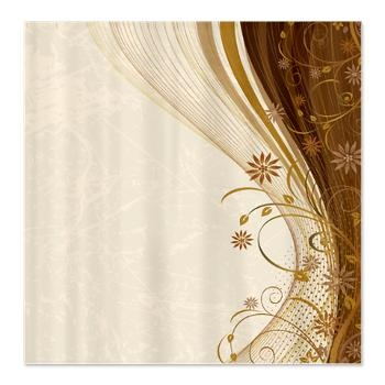 Romantic vintage wave shower curtain awesome shower curtains pint