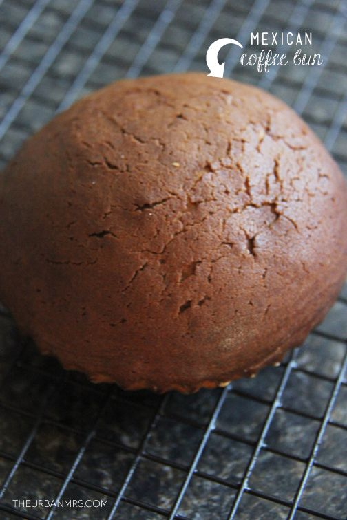 MEXICAN COFFEE BUN FOR #SUNDAYSUPPER @Linda Khoe | The Urban Mrs ...