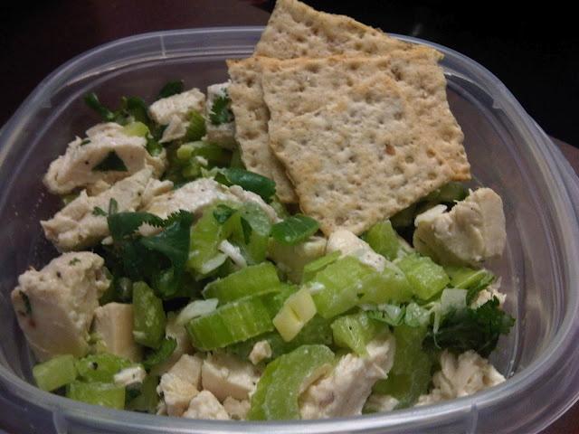 cilantro chicken salad from @Olivia Vickers' blog!
